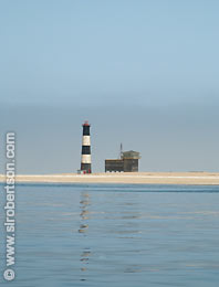 Walvis Bay Lighthouse - Click for large image