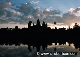 Angkor Wat at Dawn (2) - Click for large image