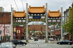 Vancouver China Town Gate 2