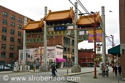 Vancouver China Town Gate 3