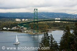 Lions Gate Bridge Stanley Park 1