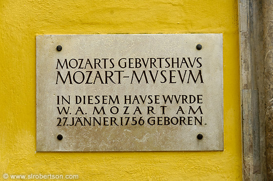 Mozart Birth House 5