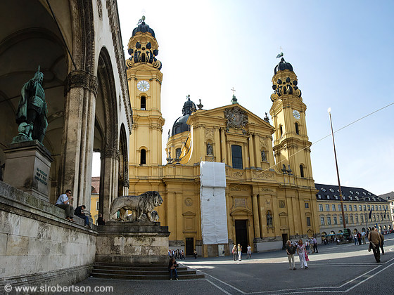 Theatine Church, Munich