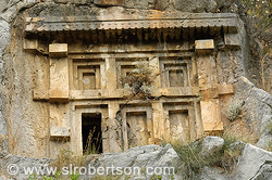 Myra Cave Tombs 5