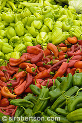 Xanthos Market Peppers