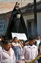 Virgin Mary Procession, Mitla 1