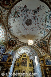 Templo San Jeronimo with 16th century frescoes painted by indigenous artists
