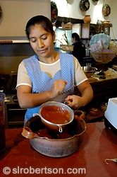 Making Mole Coloradito 1