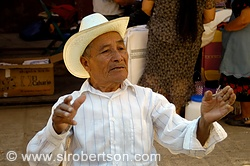 Conversation with Grandfather, Tlacolula Market 6