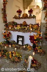 Pictures of Day of the Dead Altars