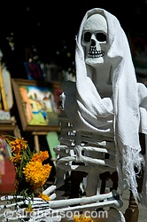 Seated Day of the Dead Skeleton 1