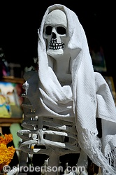 Seated Day of the Dead Skeleton 3