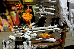 Seated Day of the Dead Skeleton 4