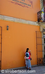 Woman With Child, Oaxaca