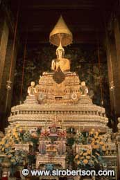 Golden Buddha, Grand Palace - Click for large image