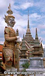 Guardian Statue, Grand Palace - Click for large image