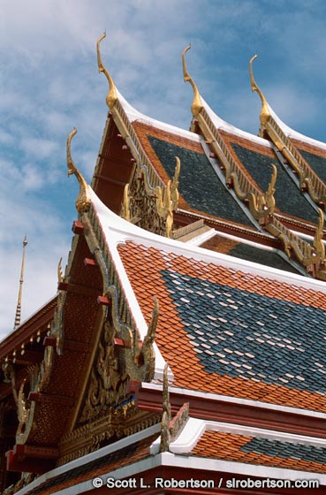 Photo: Temple Rooftops (1), Grand Palace