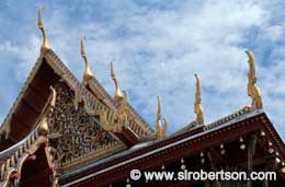 Temple Rooftops (2), Grand Palace - Click for large image