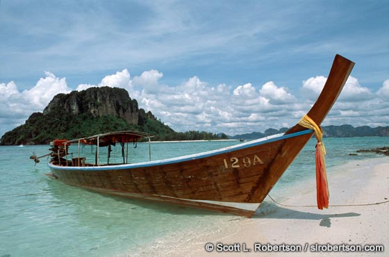 Photo: Longtail Boat