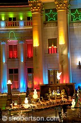 Christmas Lights, Denver City and County Building 3