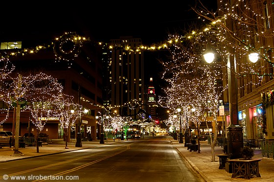 Downtown Denver Christmas Lights 1