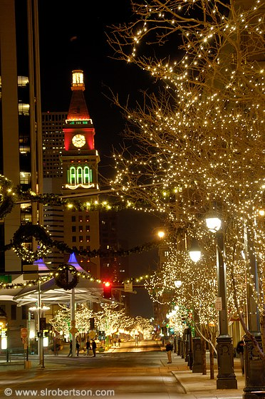Downtown Denver Christmas Lights 2