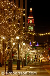 Downtown Denver Christmas Lights 3