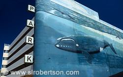 Wyland Whaling Wall and Parking Deck, Undergound Atlanta